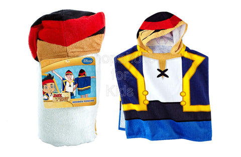 Disney Jake & The Never Land Pirates Hooded Bath Towel