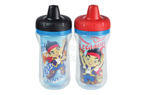 Jake and the Never Land Pirates 9oz Insulated Sippy Cups - 2-Pack