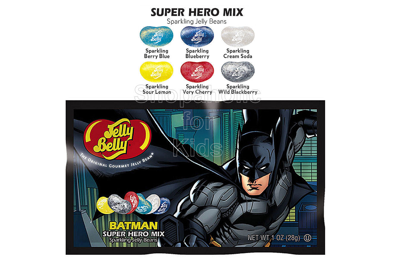 Jelly Belly Super Hero Sparkling Jelly Bean Pack (1pc) - Shopaholic for Kids