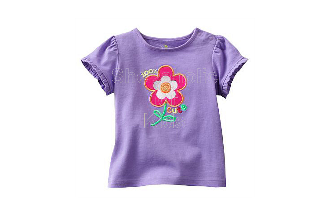 Jumping Beans Purple Flower - Shopaholic for Kids