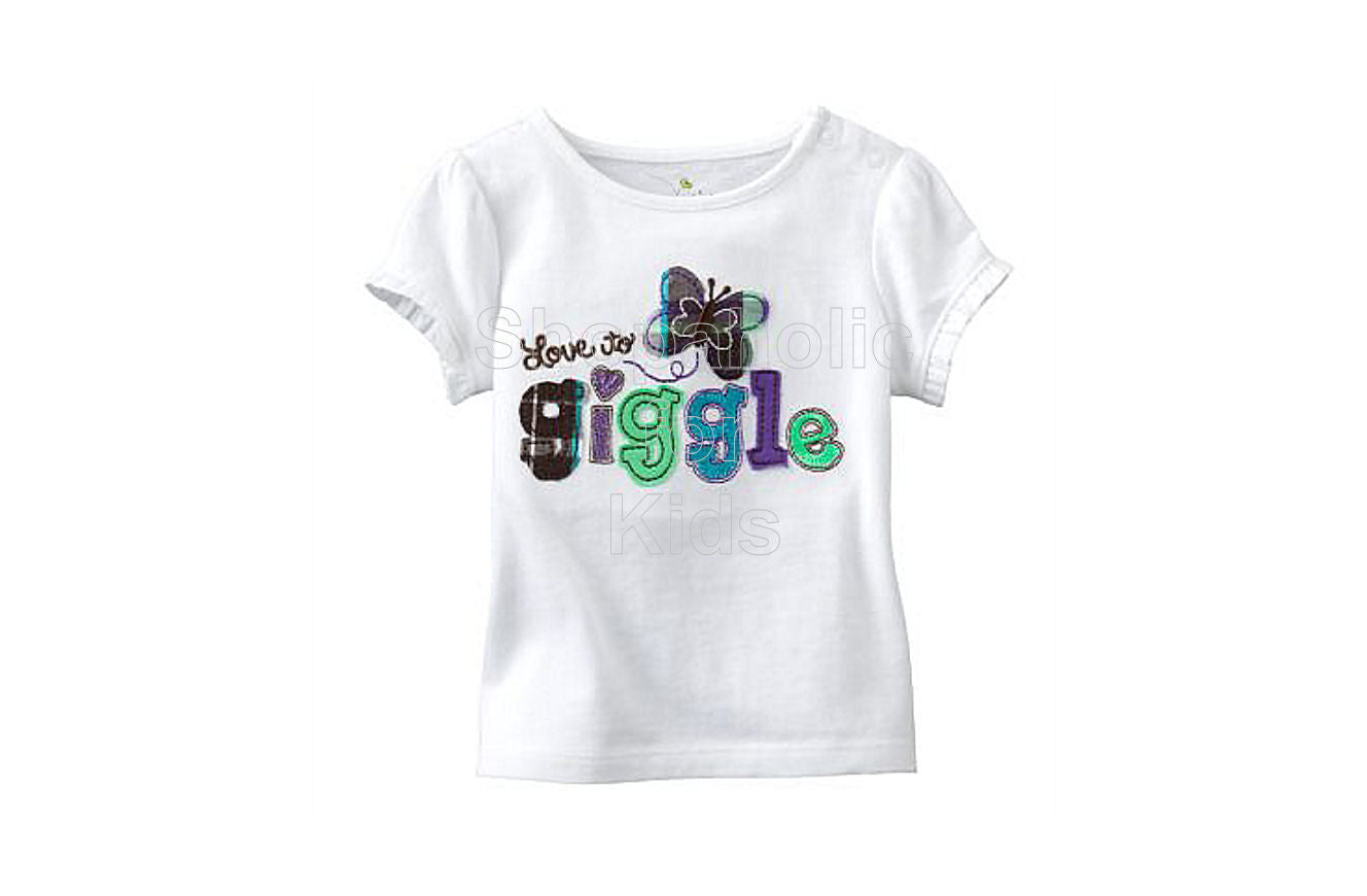 Jumping Beans White Giggles - Shopaholic for Kids