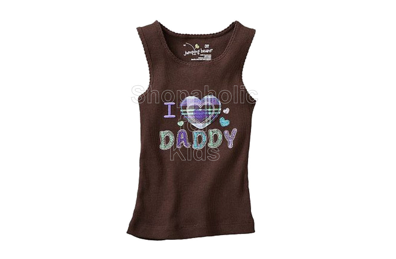 Jumping Beans Brown Love Dad - Shopaholic for Kids