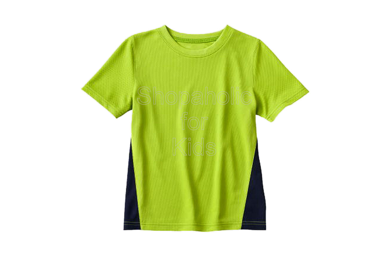 Jumping Beans Colorblock Performance Top - Lime Time - Shopaholic for Kids
