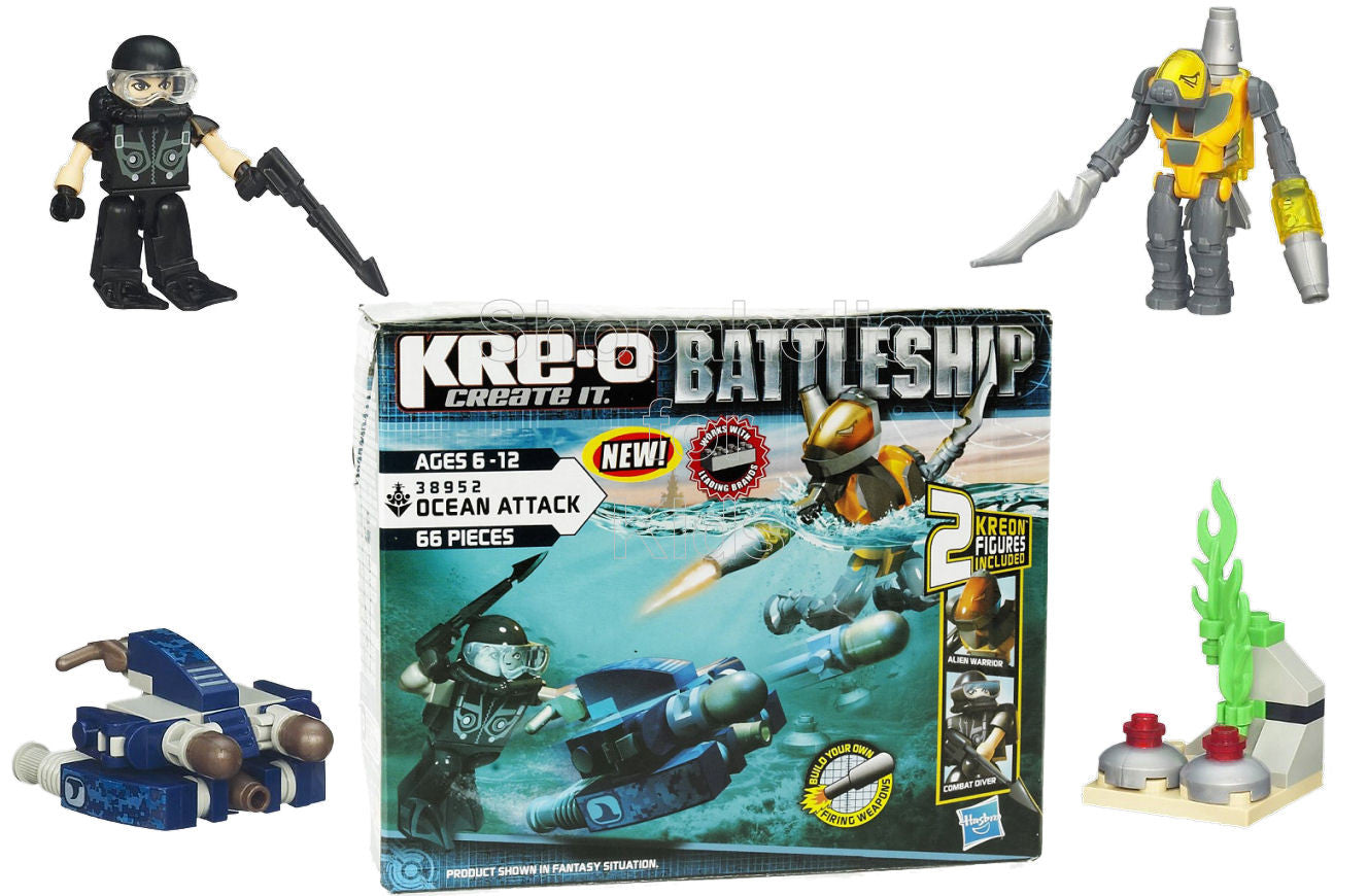 KRE-O Battleship Ocean Attack Set - Shopaholic for Kids