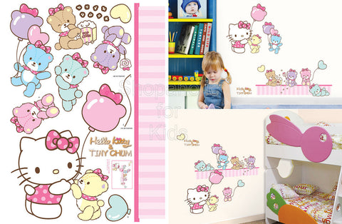 Hello Kitty & Tiny Chum Wall Sticker