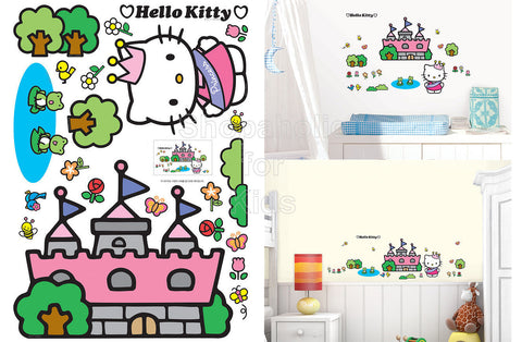 Hello Kitty Castle Wall Sticker