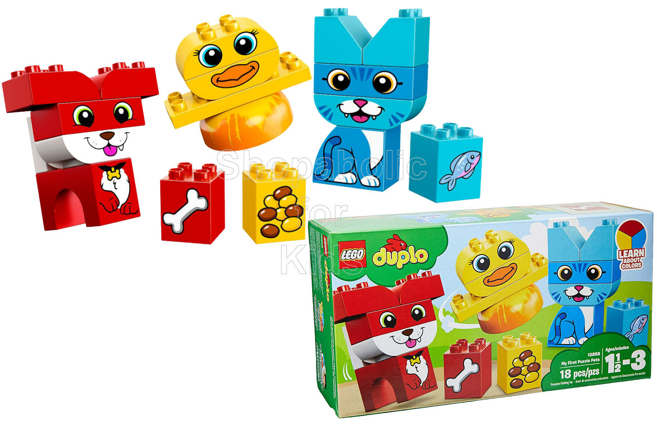 Lego Duplo My First Puzzle Pets - Shopaholic for Kids