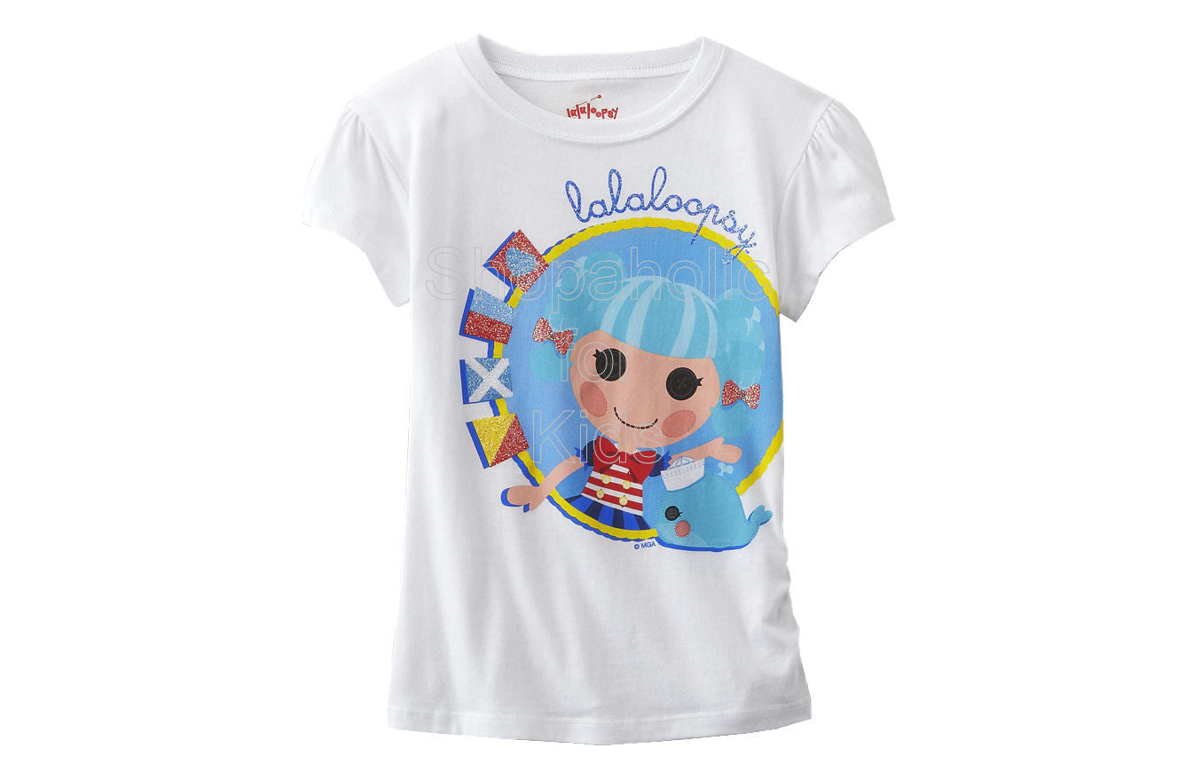 Lalaloopsy Girl's Graphic T-Shirt White - Shopaholic for Kids