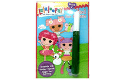 Lalaloopsy Invisible Ink, Magic Pen Painting & Sticker Book 2 - Shopaholic for Kids