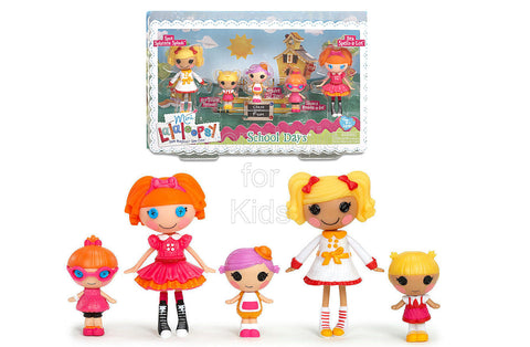 Lalaloopsy Mini Multi-Pack School Days Dolls