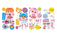 Lalaloopsy Peel and Stick Wall Decals / Wall Sticker