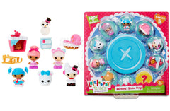 Lalaloopsy Tinies Series 5 Mitten's Snow Day Playset - Blue