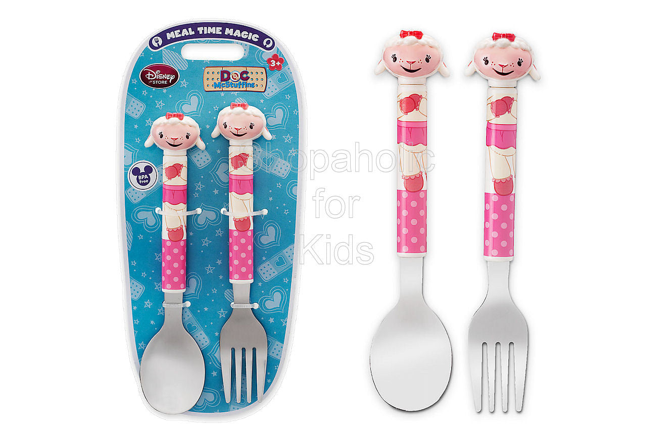 Disney Lambie Flatware Set - Doc McStuffins - Shopaholic for Kids