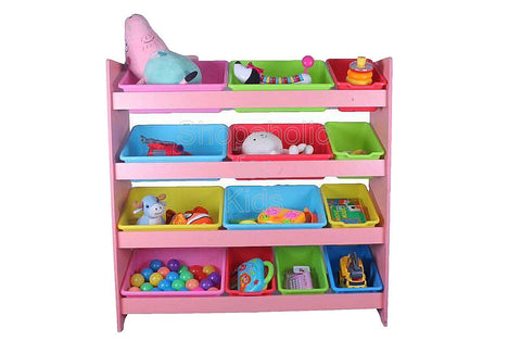 Toy Shelf- Pink - Large