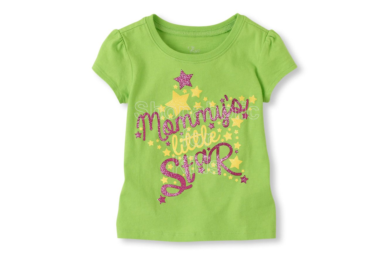 Children's Place Lil' Star Graphic Tee - Shopaholic for Kids