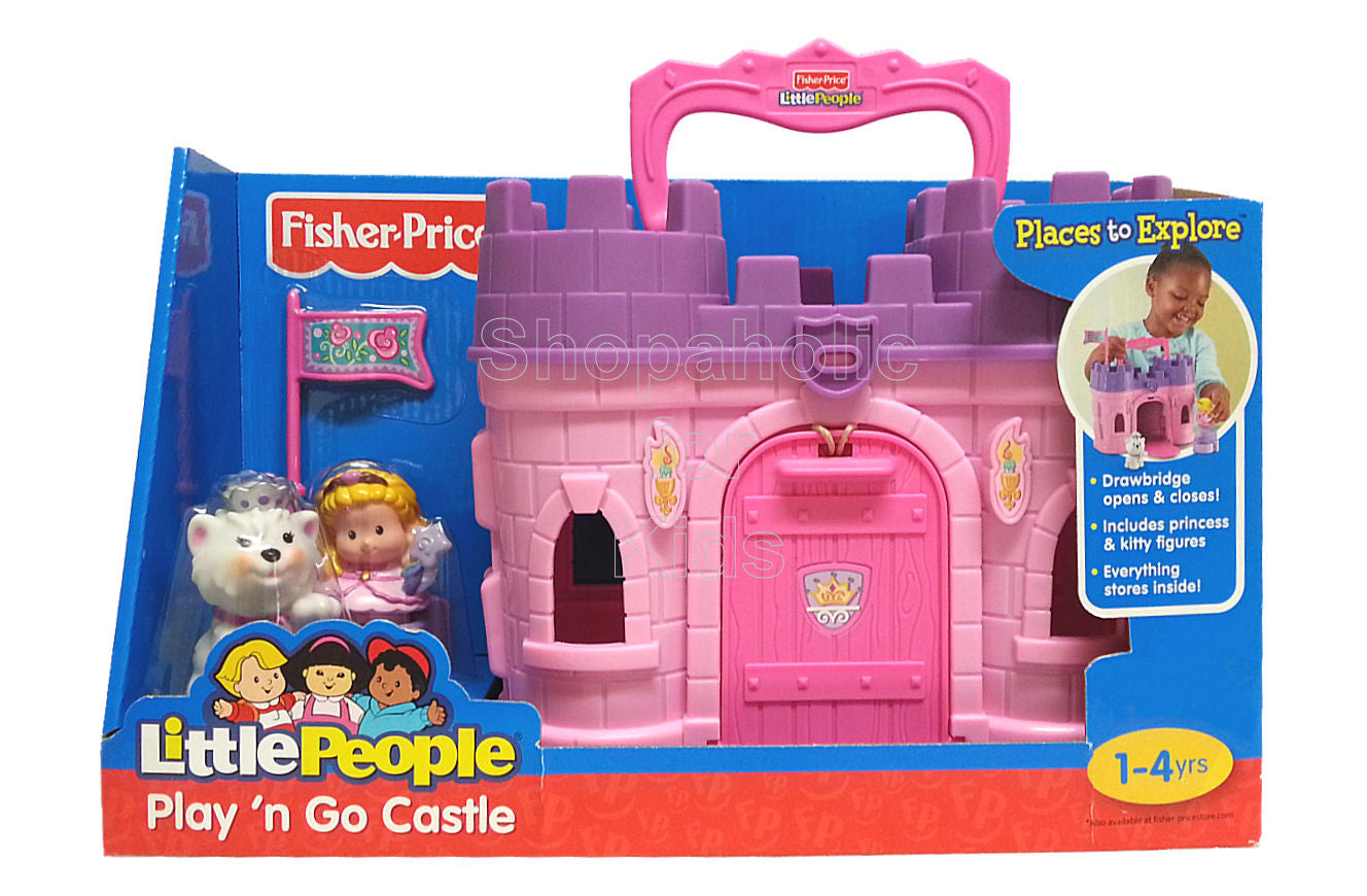 fisher price little people play n go castle shopaholic for kids