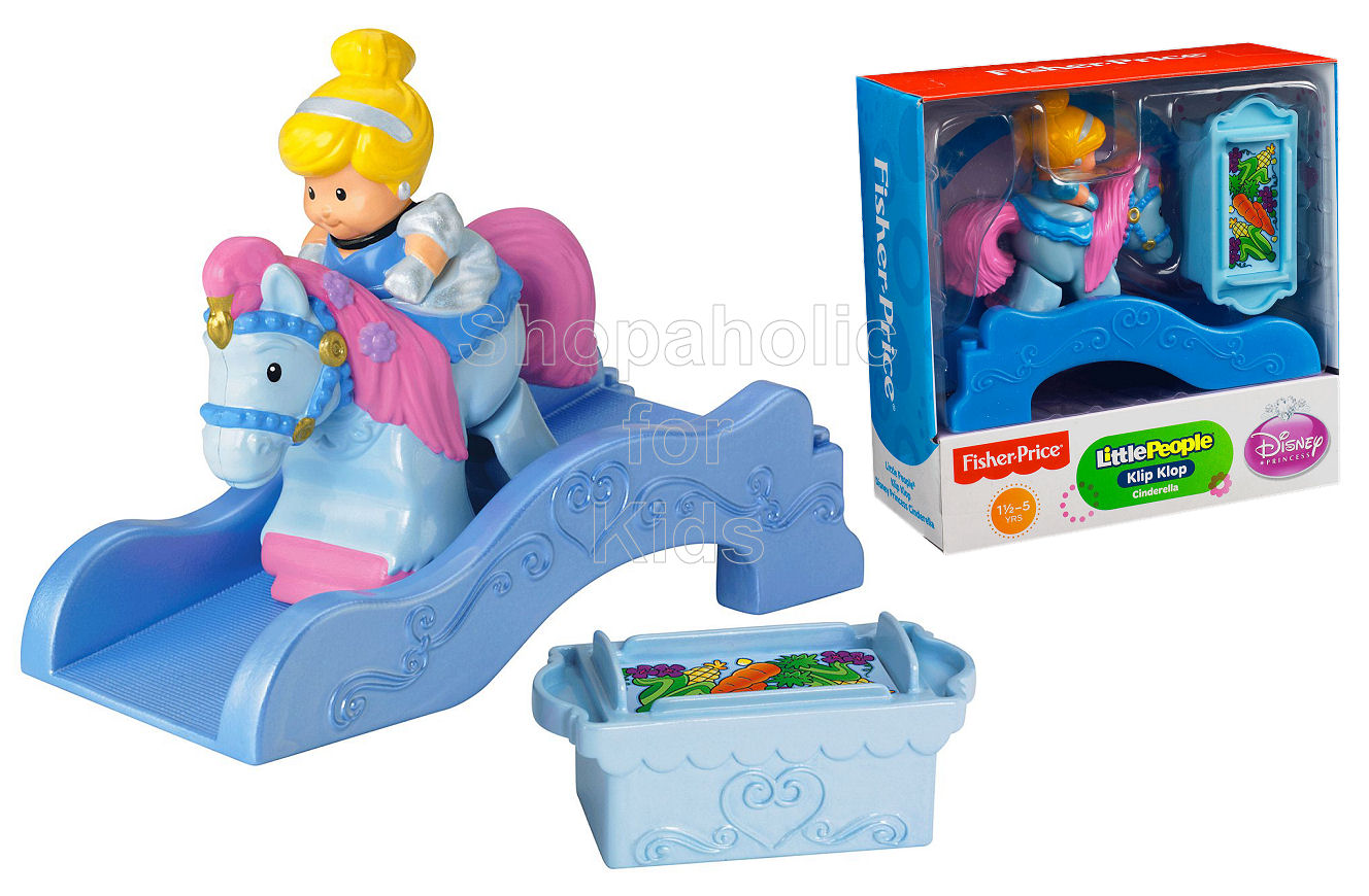 Fisher-Price Little People Disney Klip Klop Cinderella