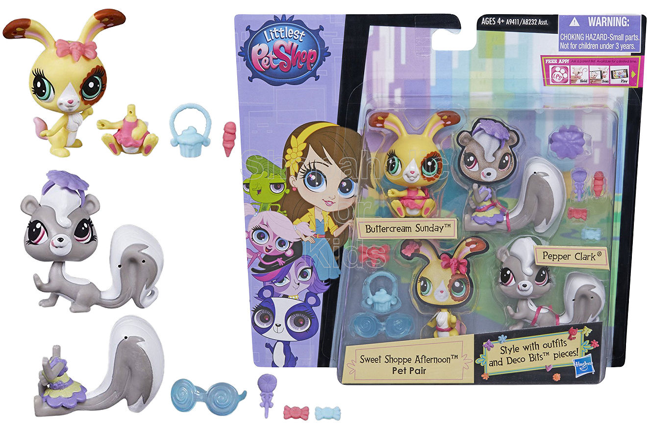 Littlest Pet Shop Sweet Shoppe Afternoon Pet Pair