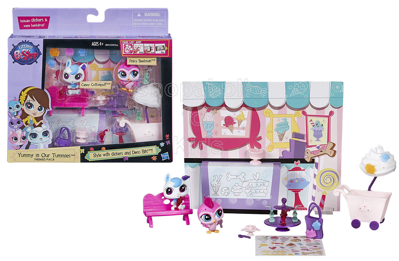 Littlest Pet Shop Yummy in Our Tummies Themed Pack - Shopaholic for Kids