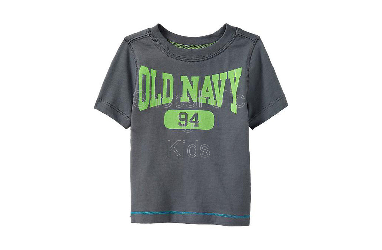 Old Navy Logo Tees - Knight Time - Shopaholic for Kids