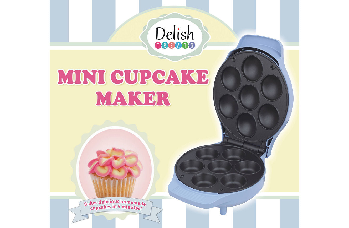 Delish Treats Mini Cupcake Maker - FREE SHIPPING - Shopaholic for Kids