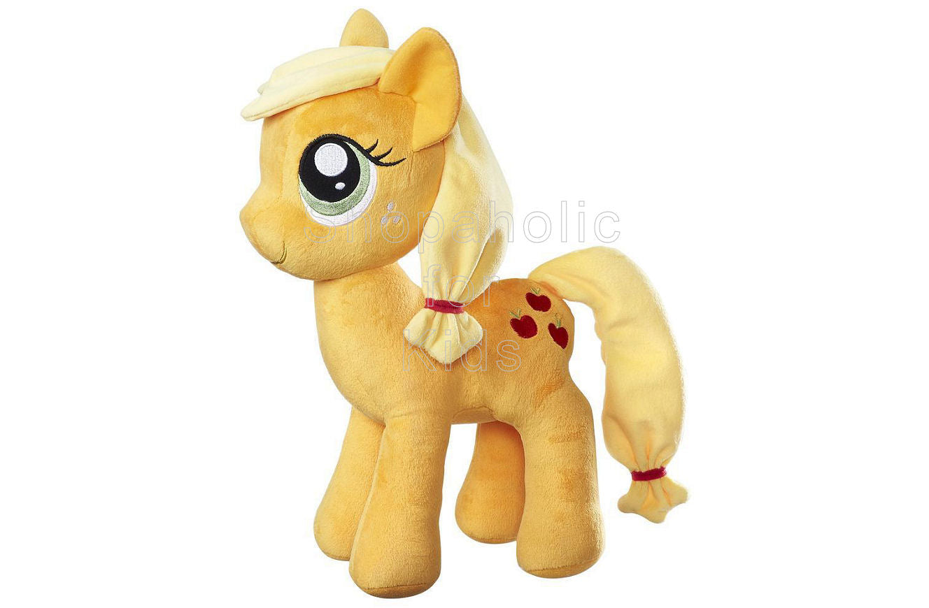 My Little Pony Friendship is Magic Applejack Cuddly Plush 12in - Shopaholic for Kids