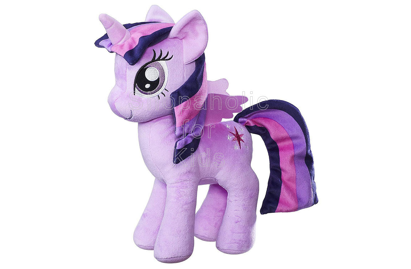 My Little Pony Friendship is Magic Princess Twilight Sparkle Cuddly Plush 12in - Shopaholic for Kids