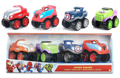 Marvel Super Hero Speed Squad - Pack of 4
