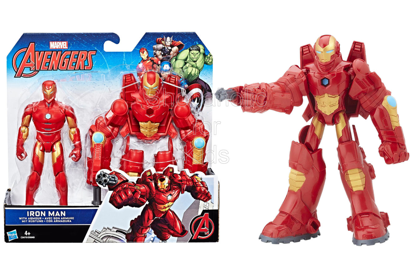 Marvel Avengers 6-Inch Iron Man Figure and Armor - Shopaholic for Kids