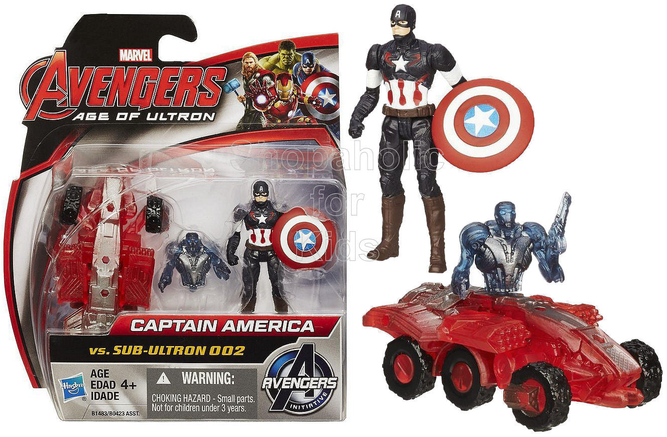 Marvel Avengers Age of Ultron Captain America Vs. Sub-Ultron 002 Figure Pack - Shopaholic for Kids