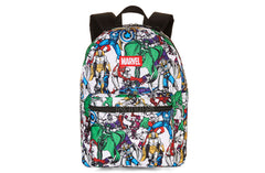 "Marvel Comics Avengers Comic Print 16"" Backpack - Shopaholic for Kids"