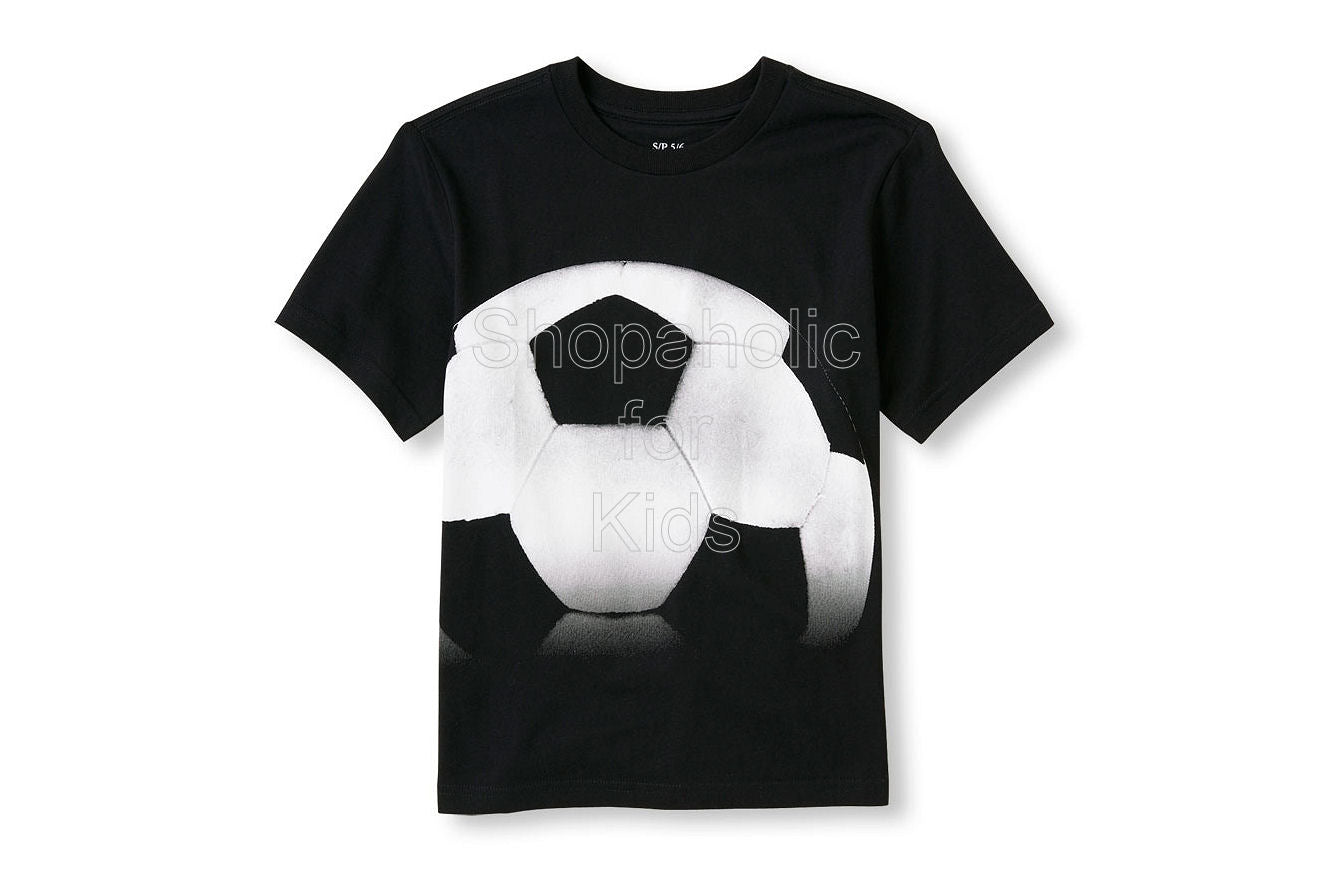 Children's Place Soccer Matchables Short Sleeve Graphic Tee - Shopaholic for Kids