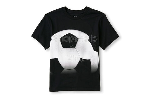Children's Place Soccer Matchables Short Sleeve Graphic Tee