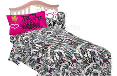 Monster High Ghouls Rule Twin Sheet Set - Shopaholic for Kids