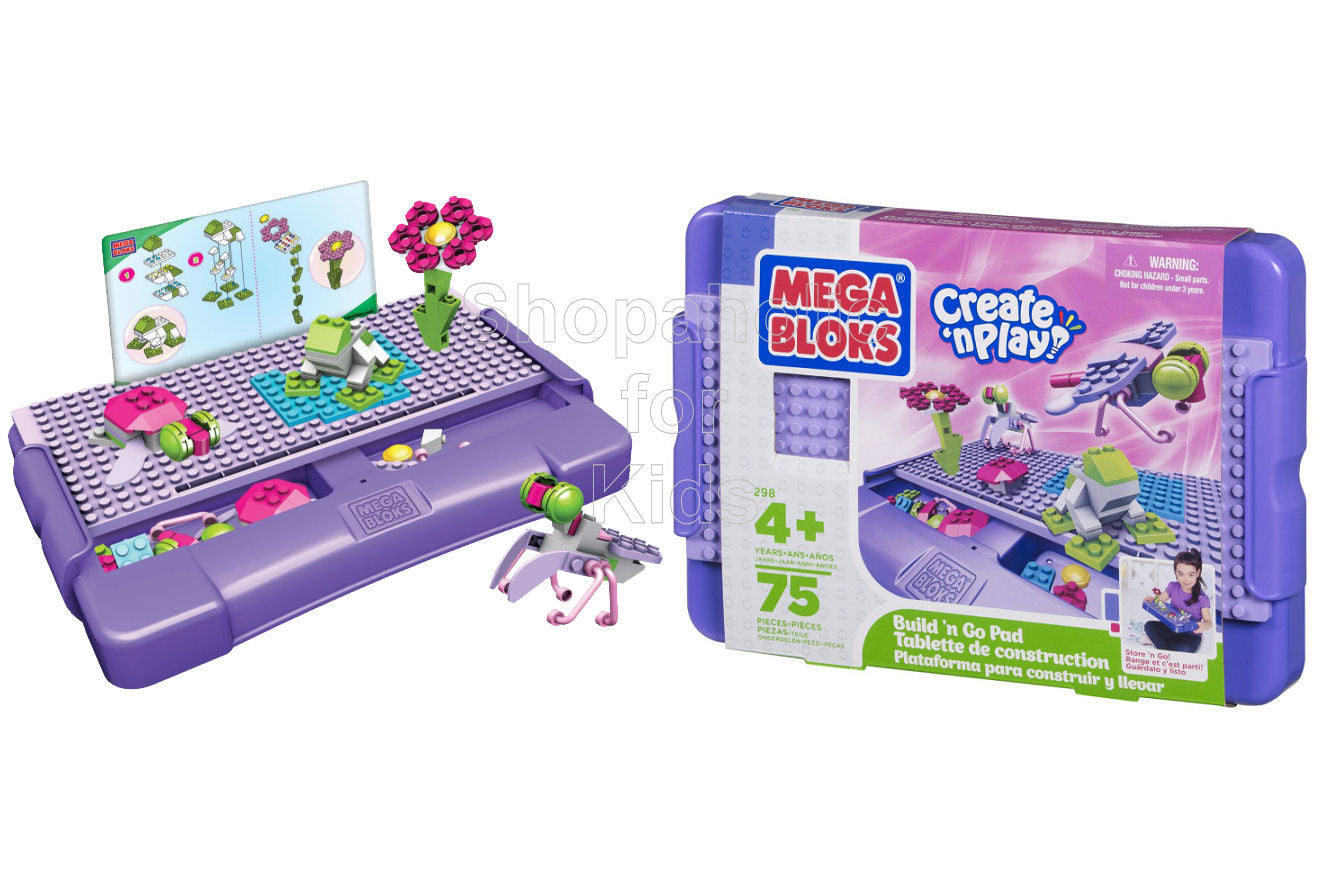 Mega Bloks Create 'n Play Build 'n Go Pad