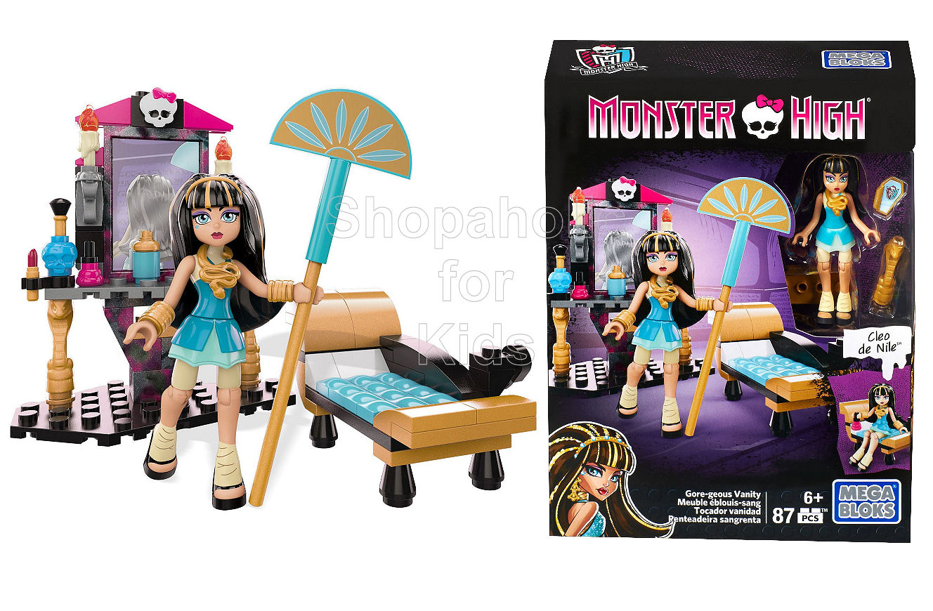 Mega Bloks Monster High Cleo de Nile – Drop Dead Gorgeous Vanity