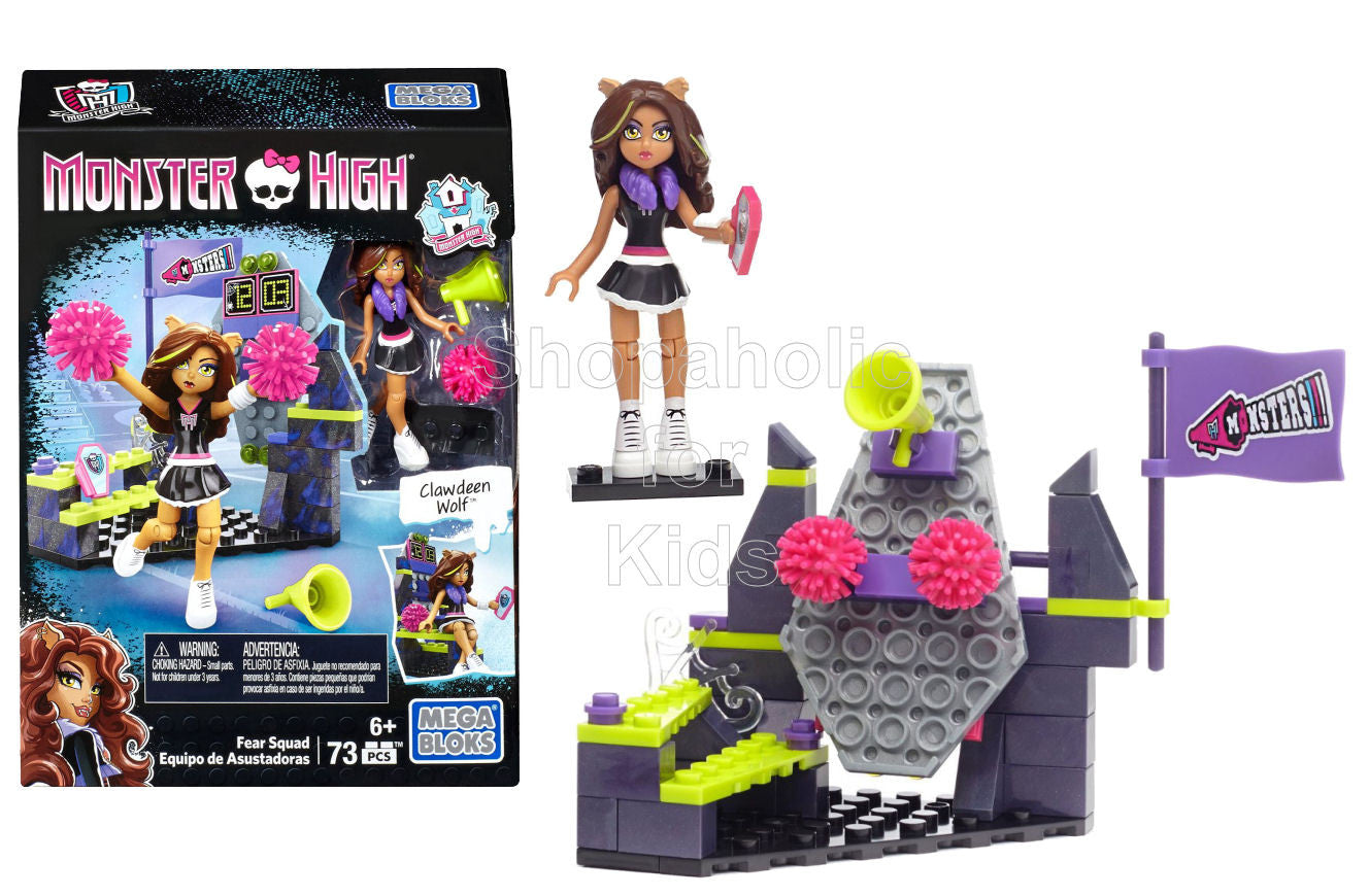Mega Bloks Monster High Fear Squad Building Kit