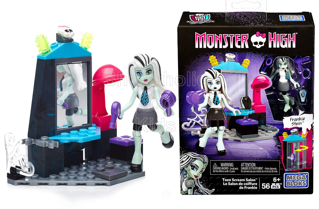 Mega Bloks Monster High School Teen Scream Salon Set