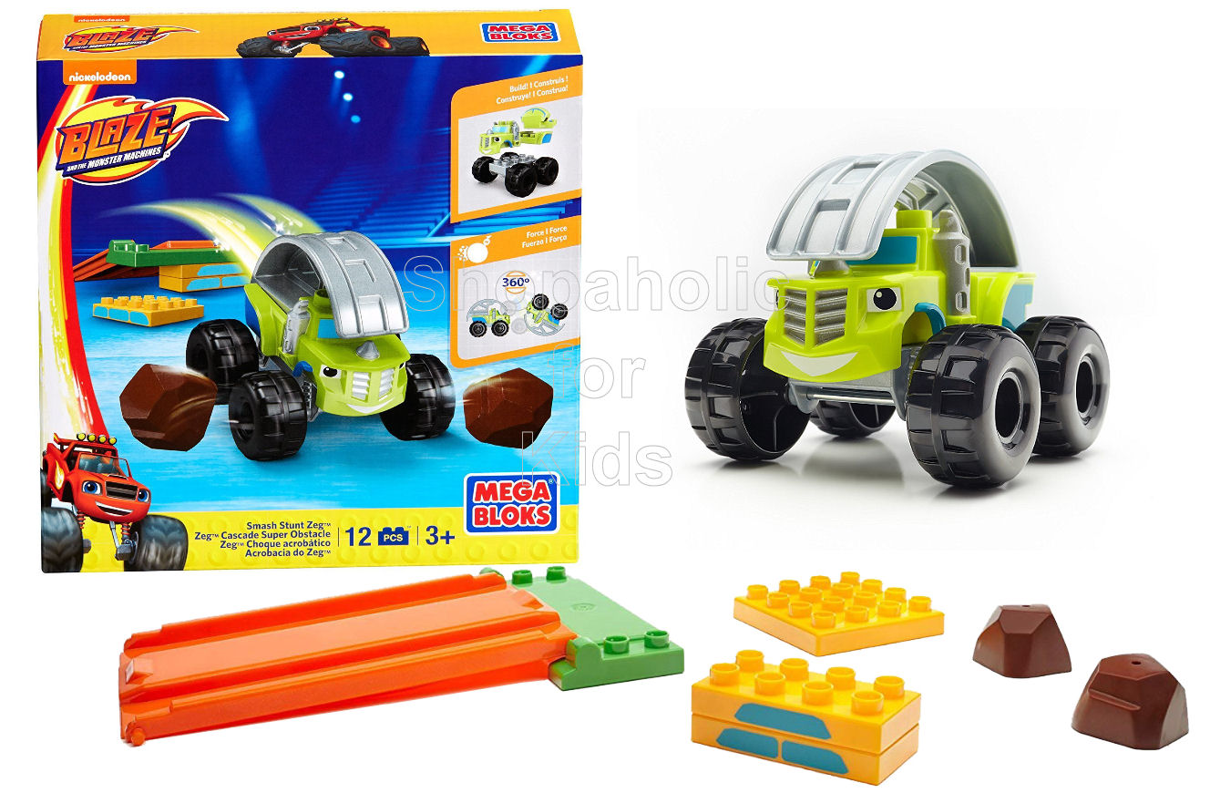 Mega Bloks Nickelodeon Blaze and the Monster Machines Smash Stunt Zeg - Shopaholic for Kids