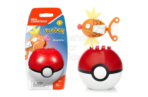 Mega Construx Building Set - Pokemon Magikarp Figure