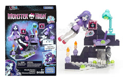 Mega Bloks Monster High Spectra Vondergeist Ghostly Gossip Column Building Kit