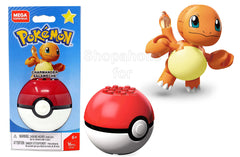 Mega Construx Pokemon - Charmander Salameche - Shopaholic for Kids