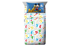 Disney Mickey Mouse Clubhouse 3-Piece Twin Sheet Set - Shopaholic for Kids