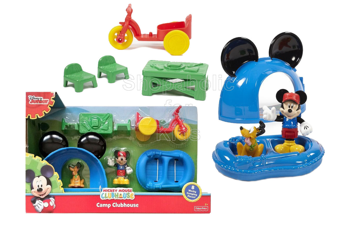 Mickey Mouse Clubhouse - Camp Clubhouse | Shopaholic for Kids