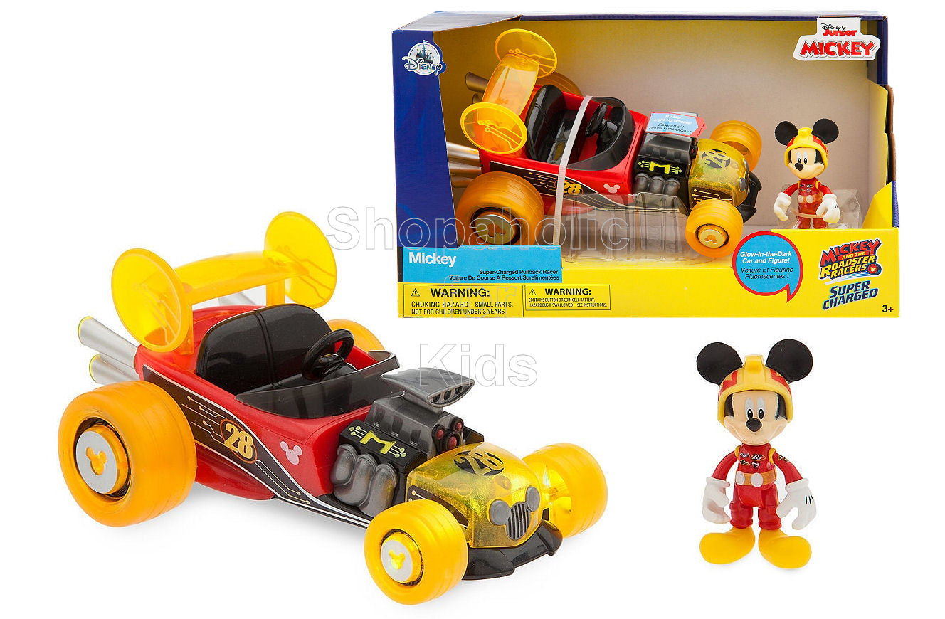 Disney Mickey Mouse Light-Up Racer