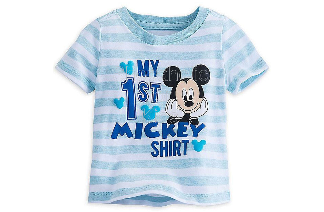 Mickey Mouse ''My First'' Tee - Shopaholic for Kids
