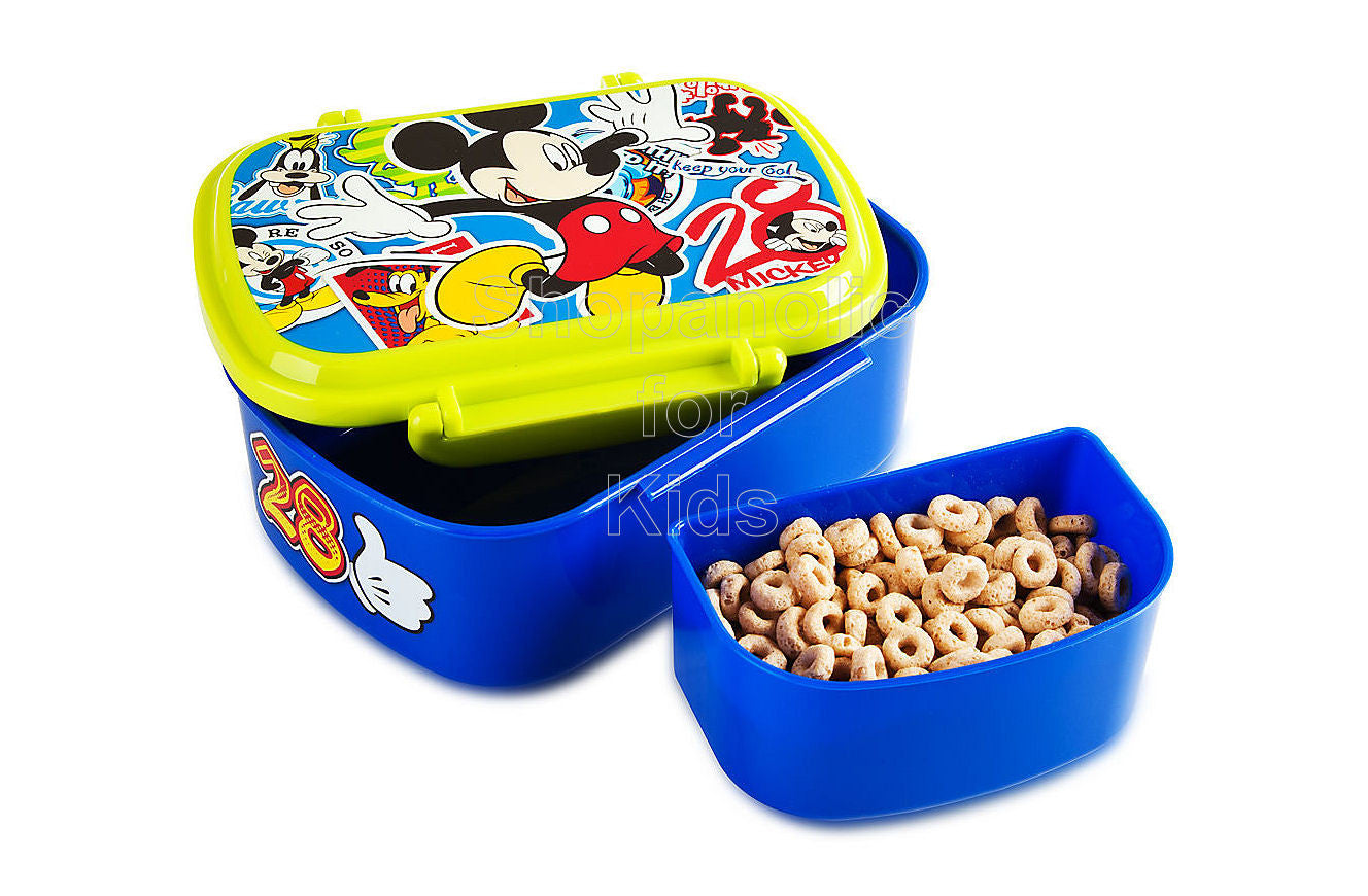 Disney Mickey Mouse Snack Box - Shopaholic for Kids