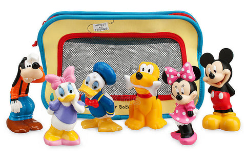 Disney Mickey Mouse and Friends Bath Toy Set