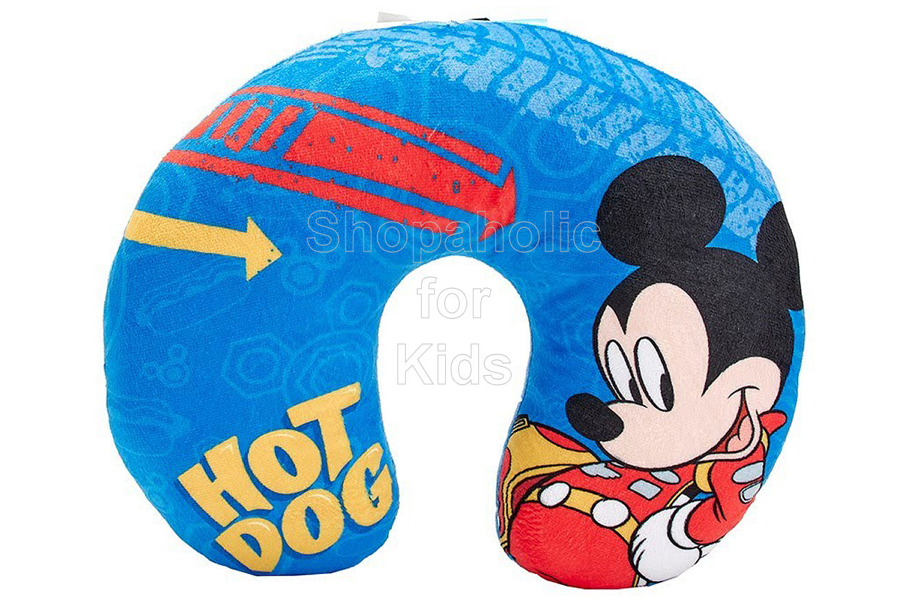Disney Mickey and The Roadster Racers Travel Pillow