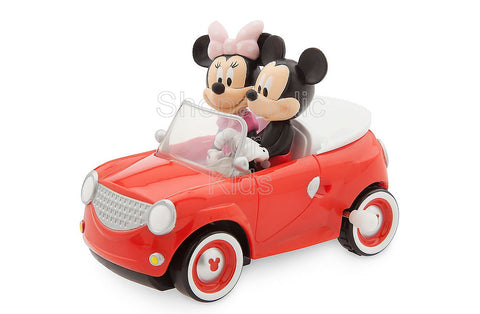 Disney Mickey and Minnie Mouse Wind-Up Car Toy